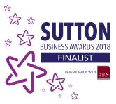 Sutton Business Awards FINALIST 2018
